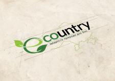 """Разработка логотипа """"Ecountry"""""""