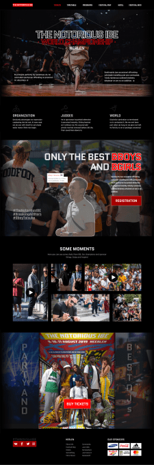 The Notorious IBE (BreakDance festival Website)