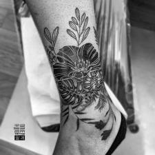 tattoo flowers тату цветы квіти