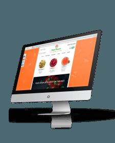 Верстка сайта для онлайн-кафе Vegan Panacea