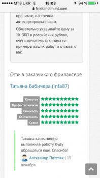 Добавление отзывов на сайты