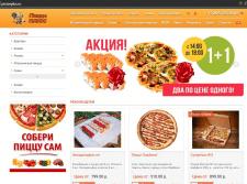 Наполнение сайта блюдами, продуктами