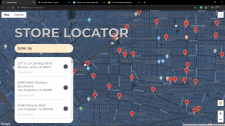 Google maps (Store locator) API истёк
