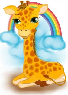жираф (пазлы)