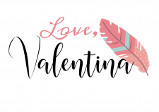 "Logo ""Love, Valentina"""