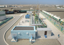 3Д модель нефтеперерабатывающего завода