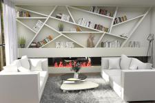 Дизайн вітальні-кухні