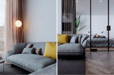 CGI I VR Puce Apartment