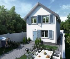 3д визуализация частного дома