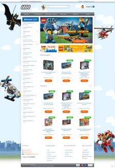 Интернет магазин конструкторов LEGO