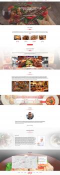 Дизайн сайта для ресторана Хинкали