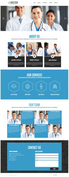 Medical - сайт под ключ