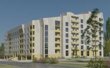 Жилой многоэтажный дом (вариант2)
