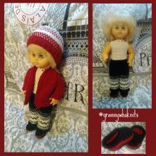 Вязание одежды для куклы