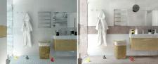 Одна ванная комната - две идеи.