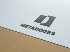 Logo for the door company