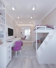 3d-визуализации интерьера детской комнаты