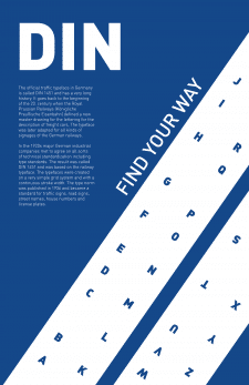 DIN - poster