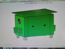 3D модель приточно-вытяжной установки