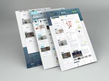 Дизайн интернет магазина спортивного оборудования