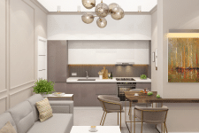 Дизайн-проект интерьеров квартиры в г.Харьков