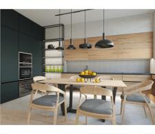 дизайн кухни в новострое