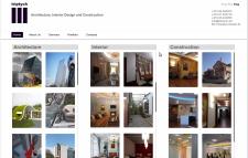 Сайт для  архитектурно-строительной фирмы