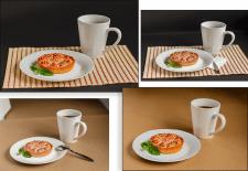 Food-processing photo