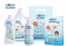 Разработка дизайна ТМ Honey Bunny для household