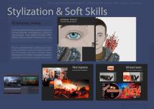 Стилизация, рисование, 3D