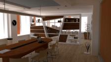3D дизайн конференц залу