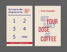 карта лояльности для кофейни |  Бали