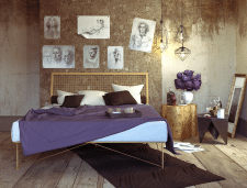 Дизайн спальни - студии