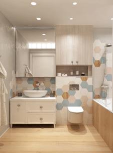 Дизайн ванной.Квартира в Киеве