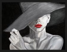 Дама в щляпе
