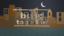 """Логотип строительной компании """"We build Togethe"""""""