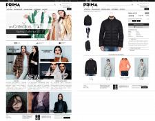 Prima-Shop - интернет магазин на OpenCart