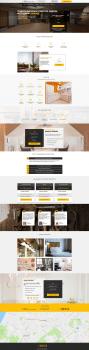Дизайн Landing Page по ремонту квартир