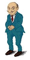 мужчина пиксел арт