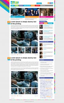 Вёрстка блога и натяжка его на Wordpress