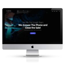 Розробка сайту для компанії The Growth Team
