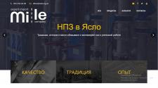 Сайт экспортной компании