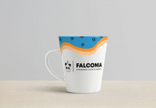 Разработка логотипа для компании Falconia