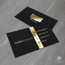 Дизайн визитки и логотипа для бизнес клуба