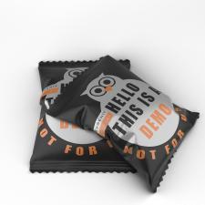 Демо визуализация мягкой упаковки