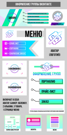 Полное оформление группы ВКонтакте