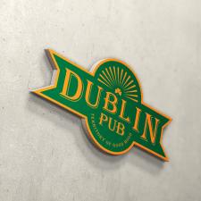 Логотип для Dublin pub