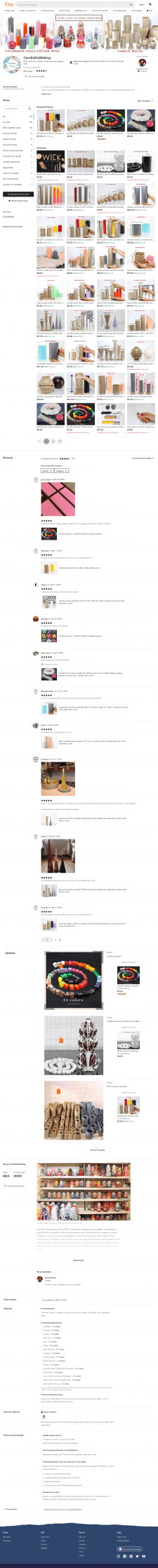 Pillar molds for candles, Prism, Pyramid, Sphere