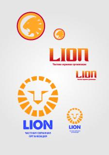 Варианты логотипа для охранной компании