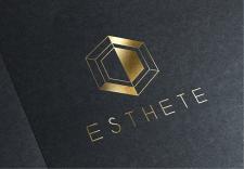 Логотип Esthete